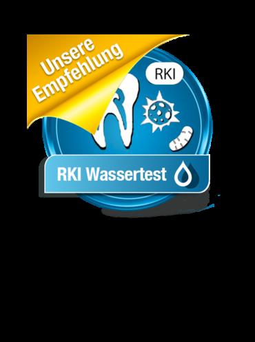 Wassertest nach RKI