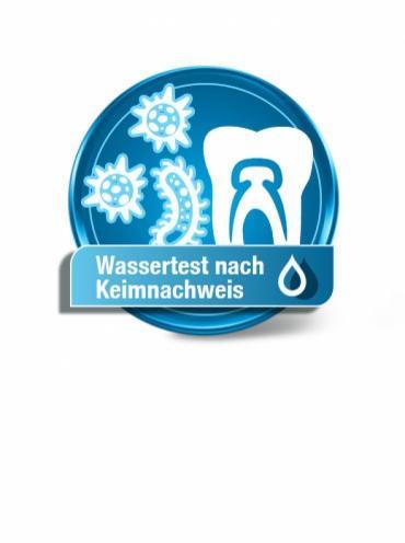 Wassertest nach Keimnachweis