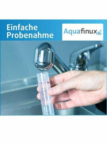 Wassertest auf Blei