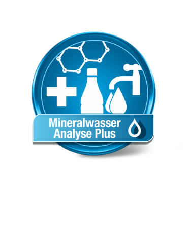 Mineralwasser Analyse Plus
