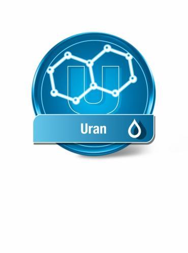 Wassertest Uran