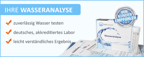 Banner Test Wasseranalyse