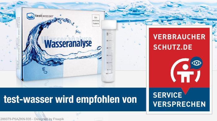 Test-Wasser: Empfohlen von verbraucherschutz.de
