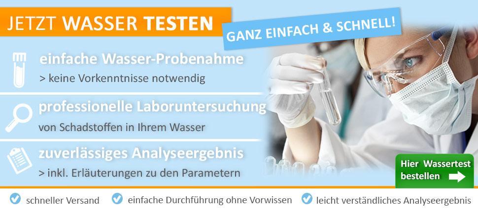 test wasser wasser testen labor