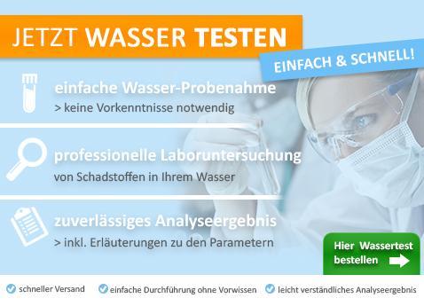test wasser wassertest labor