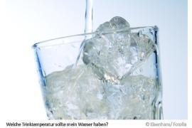 Trinktemperatur Wasser