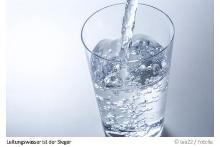 Leitungswasser ist der Sieger