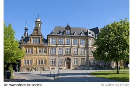 Bielefeld Wasserhärte