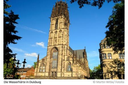 Wasserhärte in Duisburg