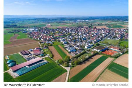 Wasserhärte in Filderstadt