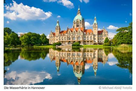 Wasserhärte in Hannover