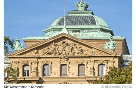 Wasserhärte in Karlsruhe