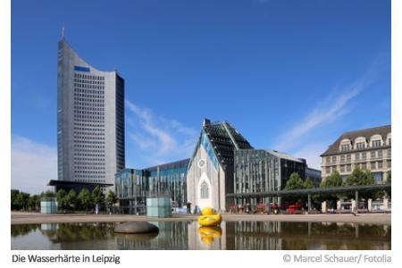 Wasserhärte in Leipzig