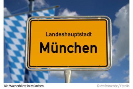 Landeshauptstadt München: Wie hart ist hier das Wasser?
