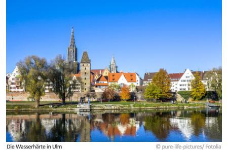 Wasserhärte in Ulm
