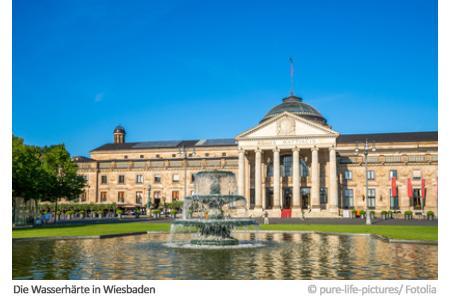 Wasserhärte in Wiesbaden