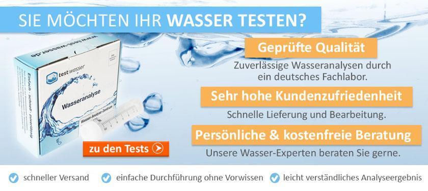 trinkwasser testen lassen