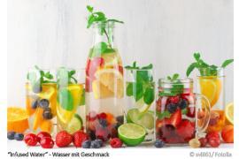 Wasser mit Geschmack - Infused Water