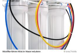 Können Nitratfilter Nitrat im Wasser reduzieren?